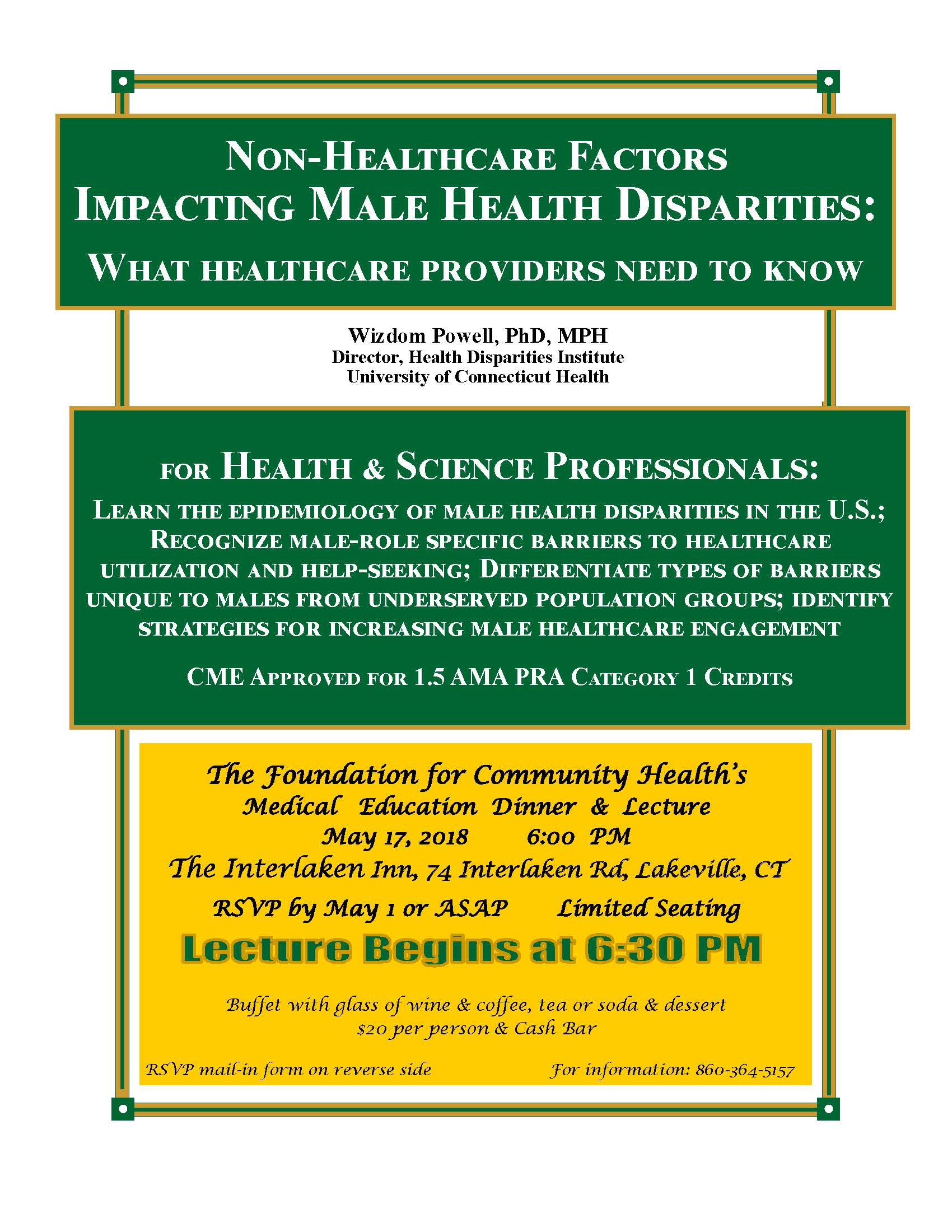 Why Healthcare Providers Need To >> Non Healthcare Factors Impacting Male Health Disparities What